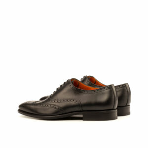 Full Brogue Black Calf leather