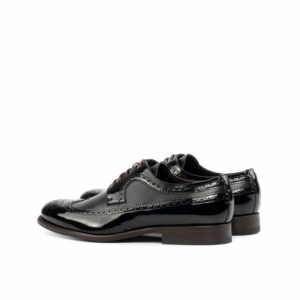 Longwing Blucher Black Calf leather