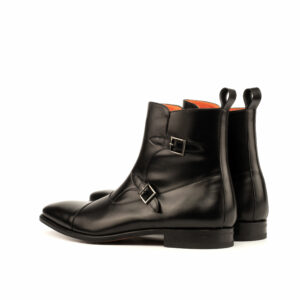 Octavian Black Calf leather