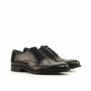 Oxford Black Calf leather